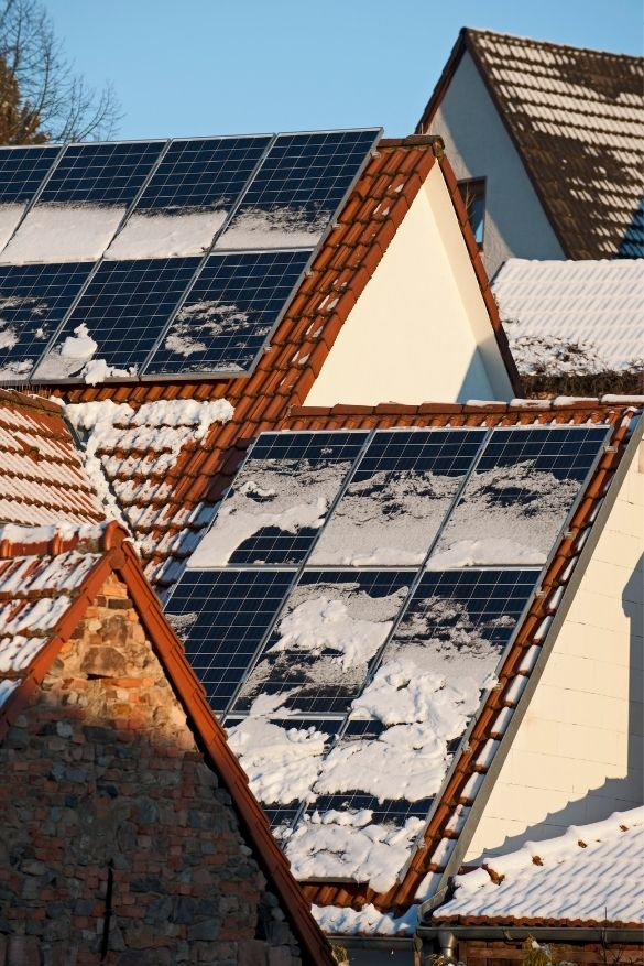How Solar Panels Work in the Winter ?